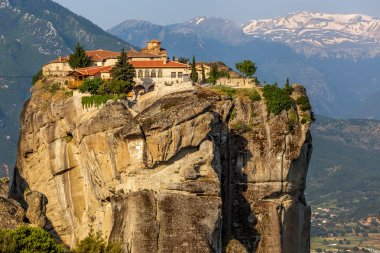 The Monastery of the Holy Trinity (1475), Meteora, Greece