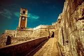 Fotografie in alten byzantinischen Festung auf Korfu - Vintage, Griechenland