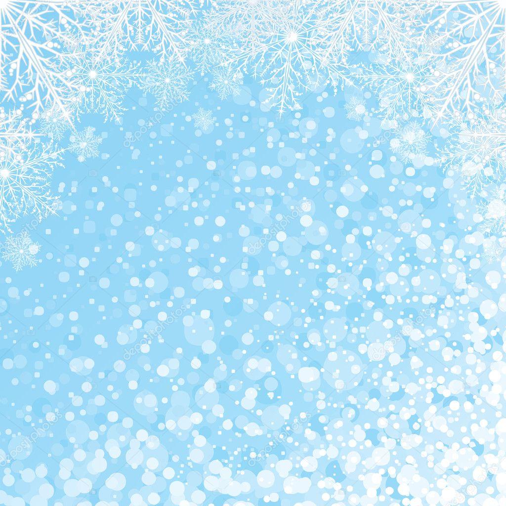 snowflakes backdrop vector � stock vector 169 pilart 21004177