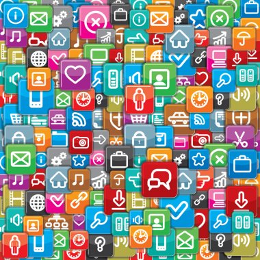 Different Apps Icons