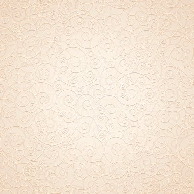 Decorative Ornamental Beige Background