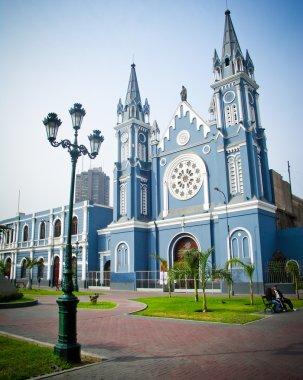 Recoleta Church in Lima Peru