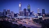 Fotografie Perth Skyline by Night