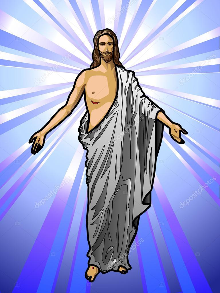 La prostituta de purpura y escarlata - Página 2 Depositphotos_12744224-stock-illustration-jesus-christ