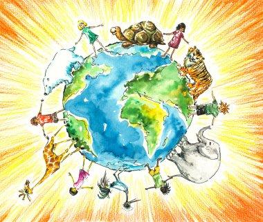 Children and animals