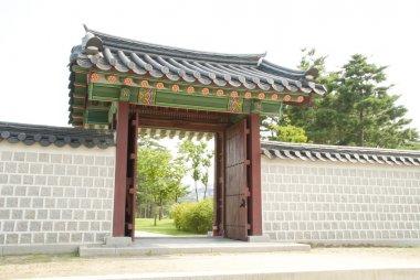 Traditional Korean gateway