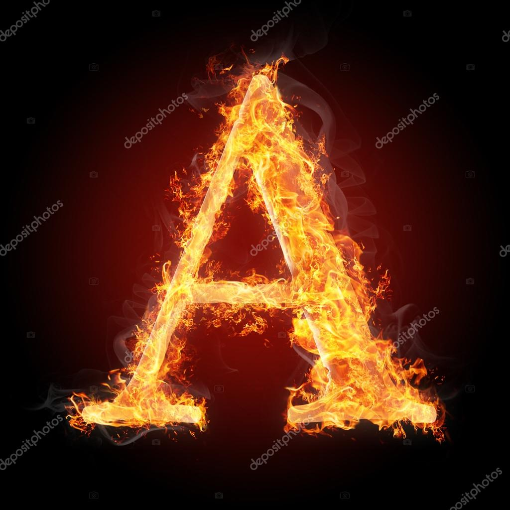 Letters in fire letter a stock photo tsalko 45321489 letters in fire letter a stock photo thecheapjerseys Images