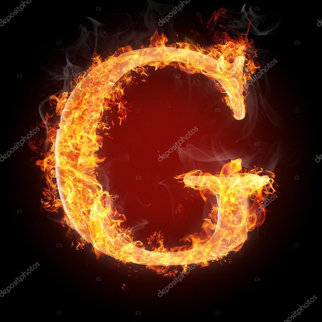 Letters in fire letter g stock photo tsalko 45321643 letters in fire letter g stock photo altavistaventures Gallery