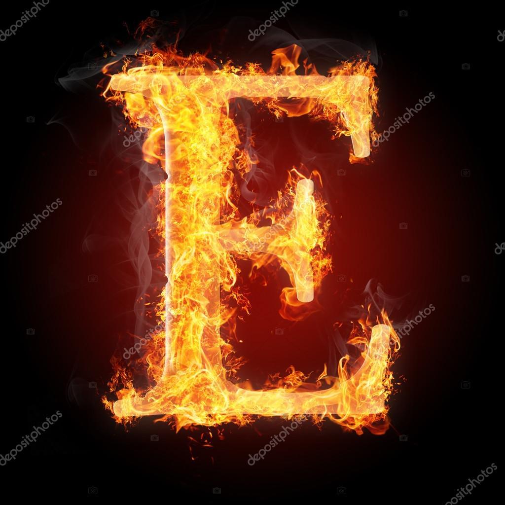 Letters in fire letter e stock photo tsalko 45321933 letters in fire letter e stock photo altavistaventures Images