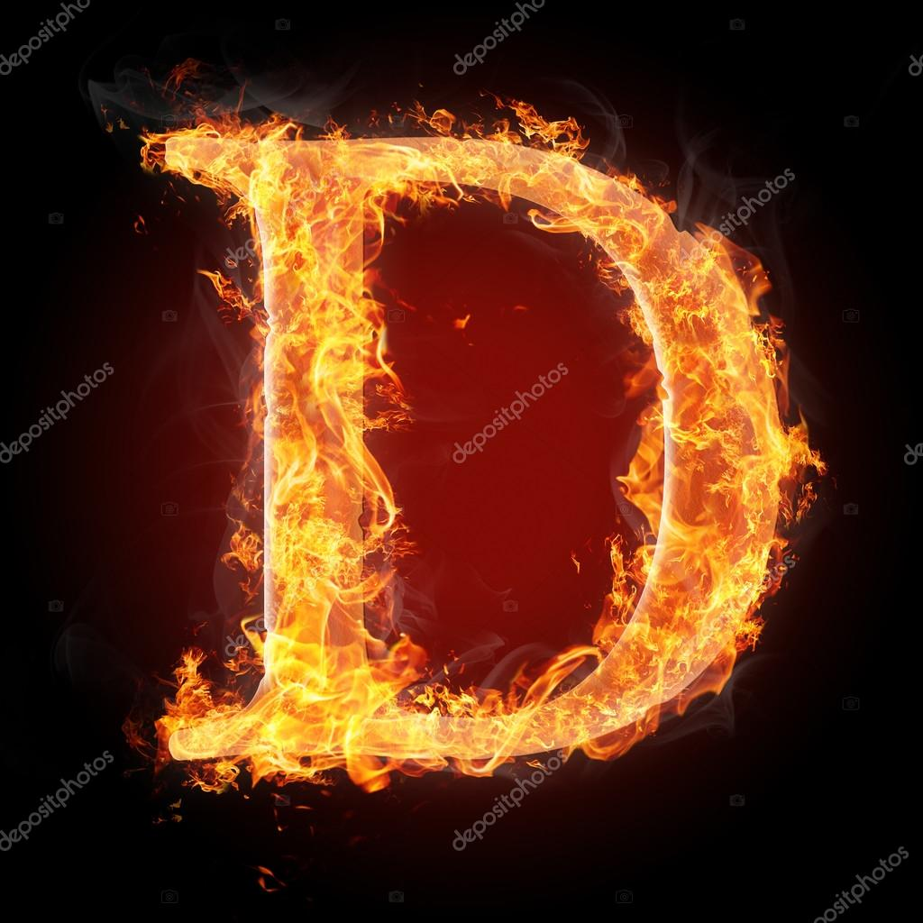 Letters in fire letter d stock photo tsalko 45322007 letters in fire letter d stock photo altavistaventures Gallery