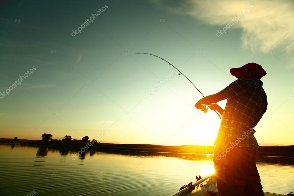 Фотообои Fishing