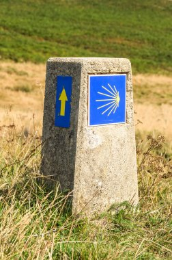 Camino de Santiago sign