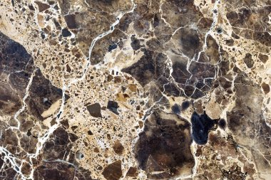 Brown natural marble . Beautiful multi-colored interior decorati