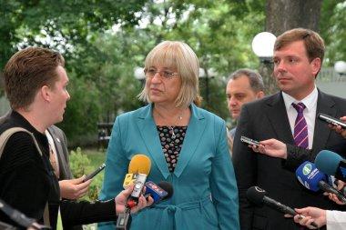 Odessa, Ukraine - September 4, 2010: Tsetska Tsacheva Dangovska