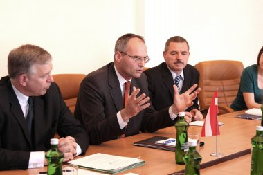 Odessa, Ukraine - May 26, 2011: Ambassador Extraordinary and Ple
