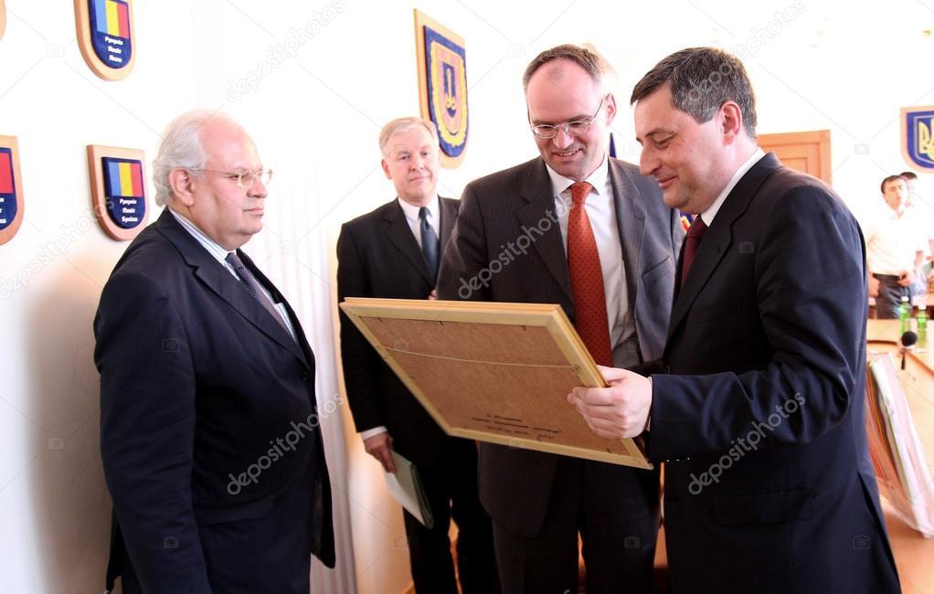Odessa, Ukraine - May 26, 2011: Ambassador Extraordinary and Ple
