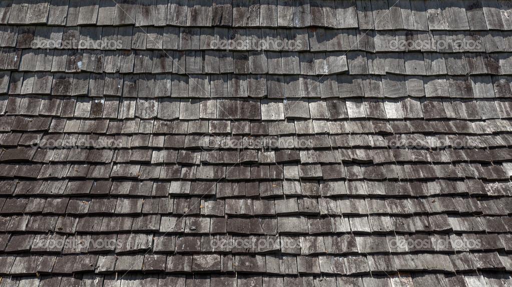 Dach textur  von oben Holz Dach Textur — Stockfoto #22202005