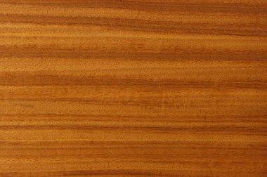 The painting of wood, mahogany.
