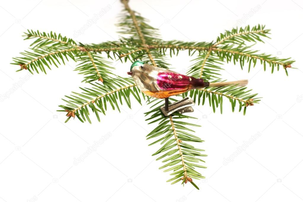 Foto Di Natale Anni 60.Decorazione Dell Albero Di Natale Da Anni 60 Un Uccello Foto