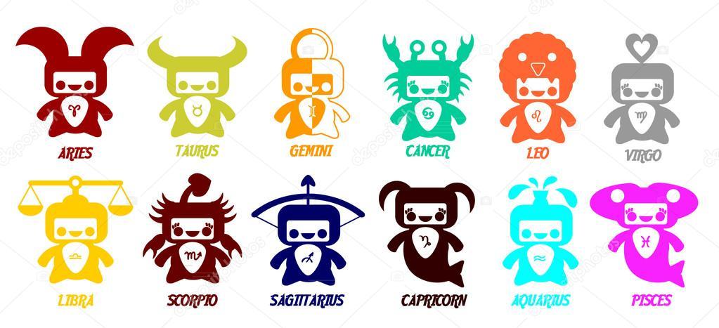 """Résultat de recherche d'images pour """"signos del zodiaco cute"""""""