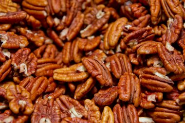 Background of nuts -