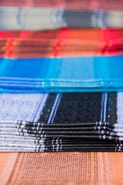 Ecuadorian traditional fabrics, Otavalo market
