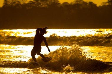 Unidentified Surfer Mompiche