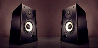 Two energy audio speakers