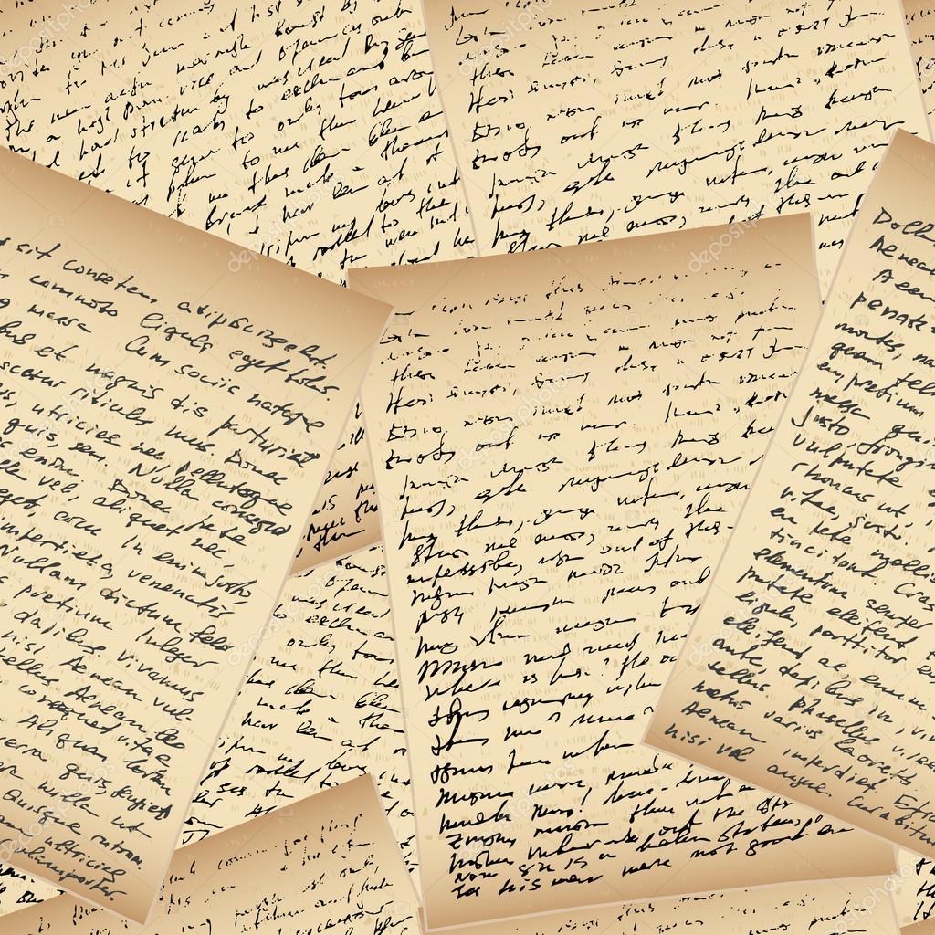 Lettres De L'écriture Manuscrite