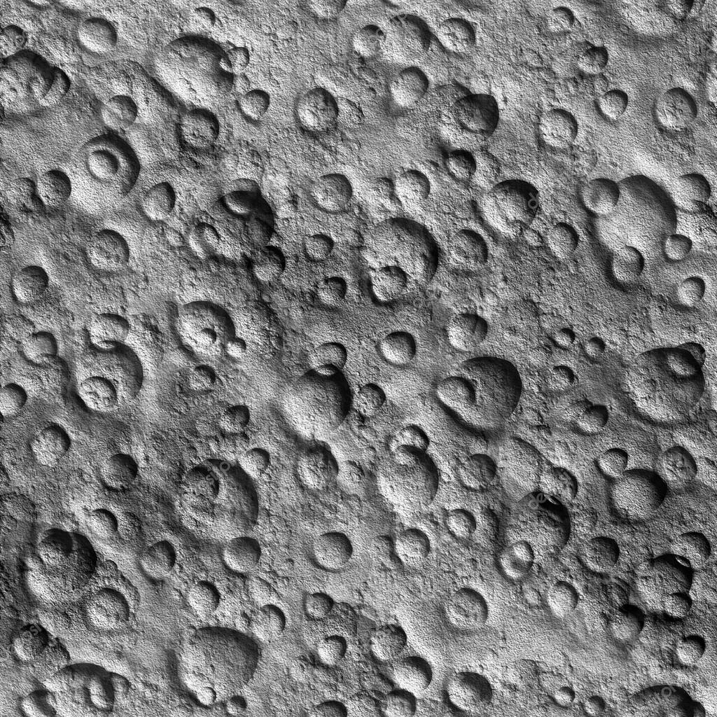 Seamless Texture surface of the moon