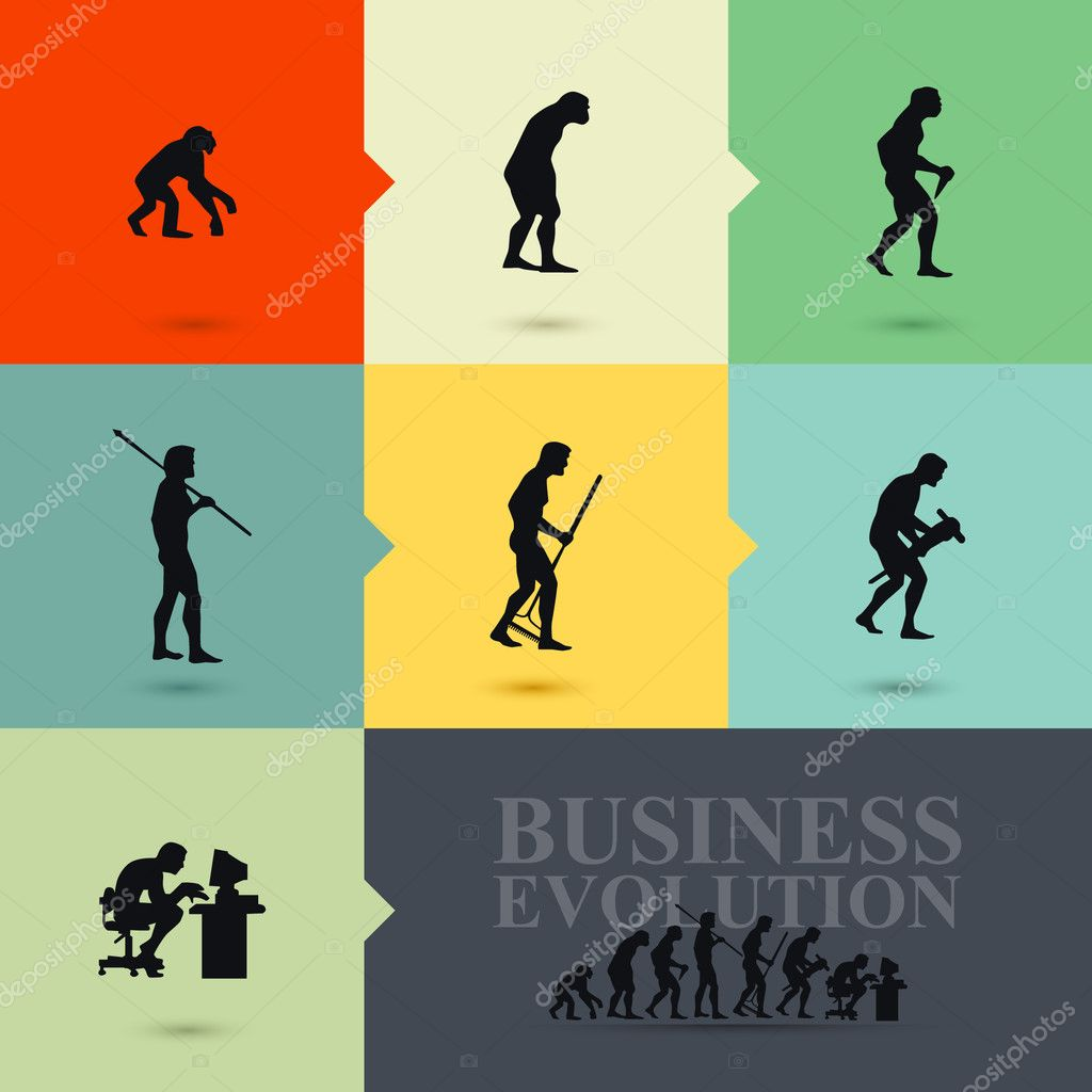 Business evolution concept