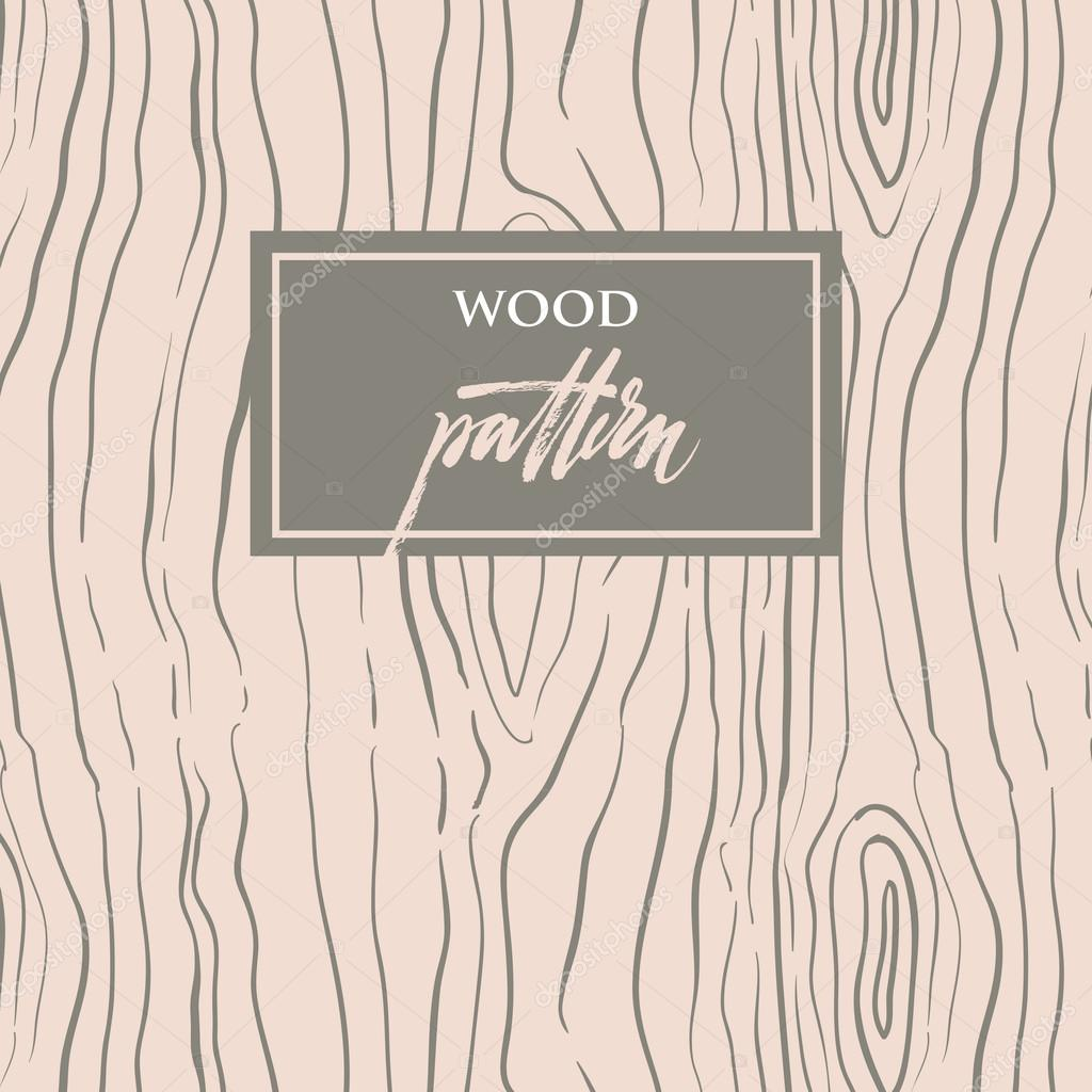 Wood texture  Seamless pattern with structure of tree