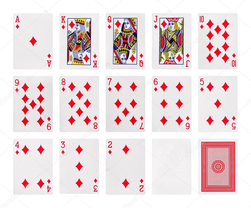 Größe Spielkarten