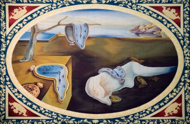 Painting of Salvador Dali