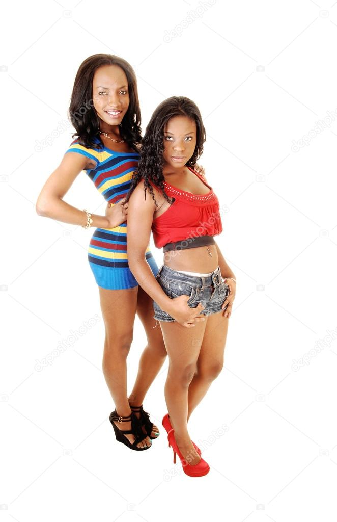 fotky pěkně černých dívek