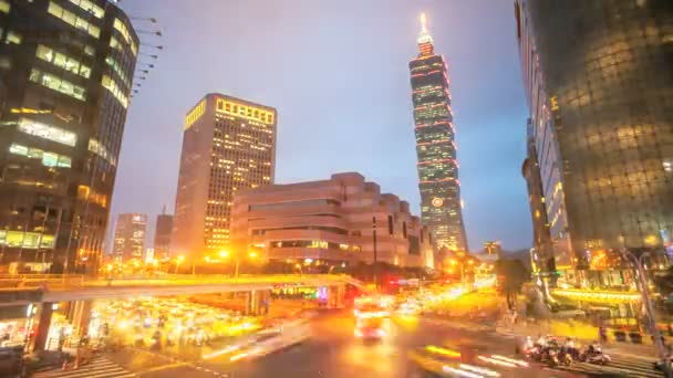 Nice night view of Taipei city