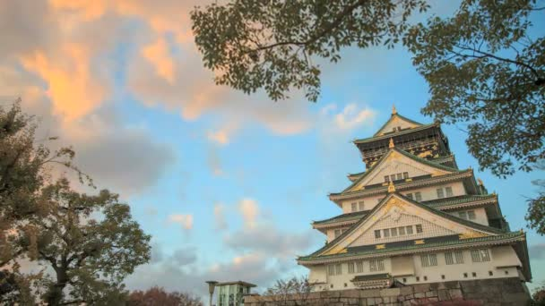 Time lapse of Himeji Castle, Japan