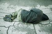Fotografie sleep on the street