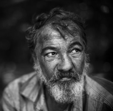 portrait of hobo