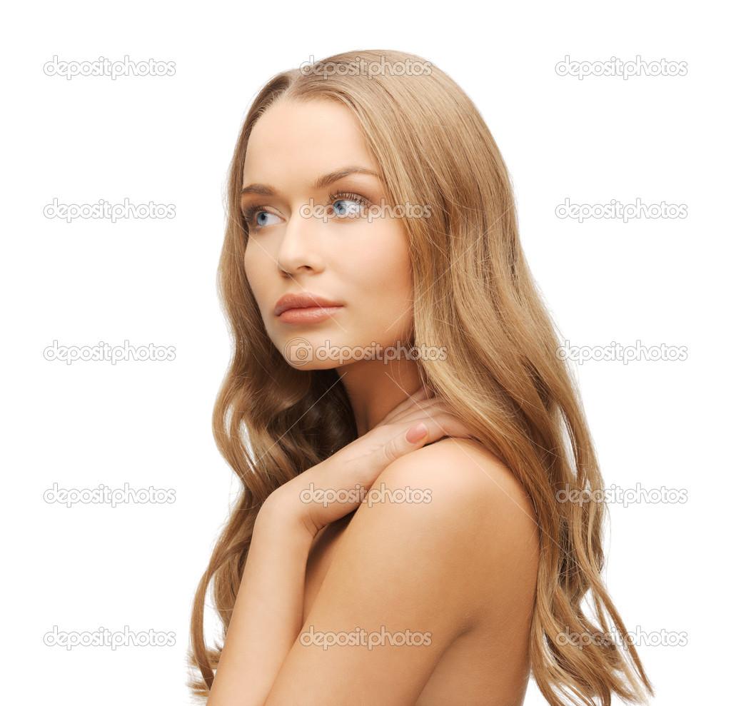 Красавицы с длинными волосами #8