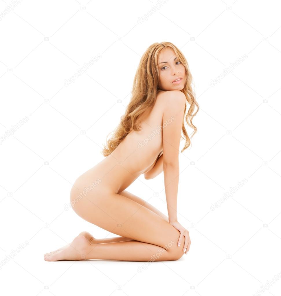 много полу женьщины голая на
