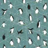 Photo Penguin pattern