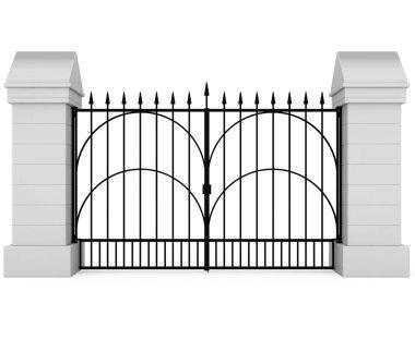 Closed Iron Gate