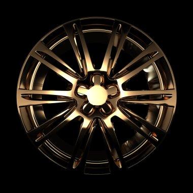golden car disc