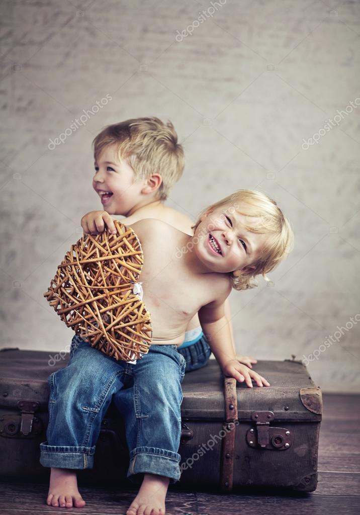 Happy childhood