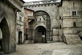Fotografie Medieval castle in european city