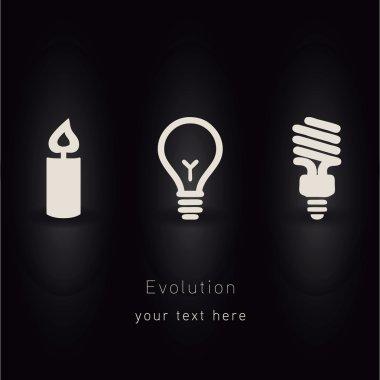 Evolution of lighting vector idea
