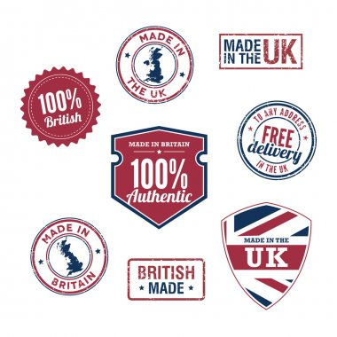 Made in the UK Badges