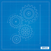 Photo Blueprint of Cogs