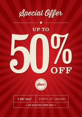Retail Sales Poster